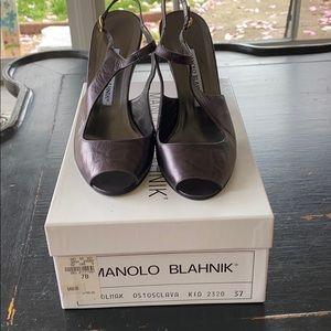 NWT Manolo Blahnik Shoes